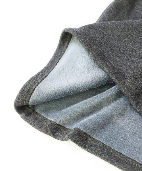 devirock(デビロック)/まるで着る毛布 裏シャギーAラインワンピース 裏起毛/DT0038_img21