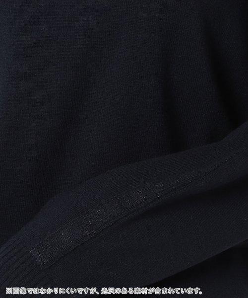 LAPINE BLEUE(ラピーヌ ブルー)/【セットアップ対応商品】12G天竺ラメボートネックセーター/244479_img05
