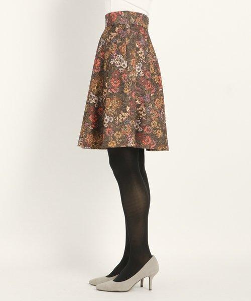 UNIVERVAL MUSE(ユニバーバル ミューズ)/ゴブランハイテンション スカート/8574406_img01