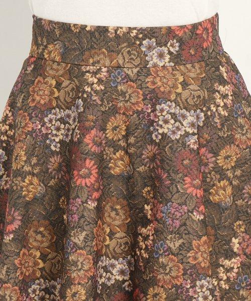 UNIVERVAL MUSE(ユニバーバル ミューズ)/ゴブランハイテンション スカート/8574406_img03