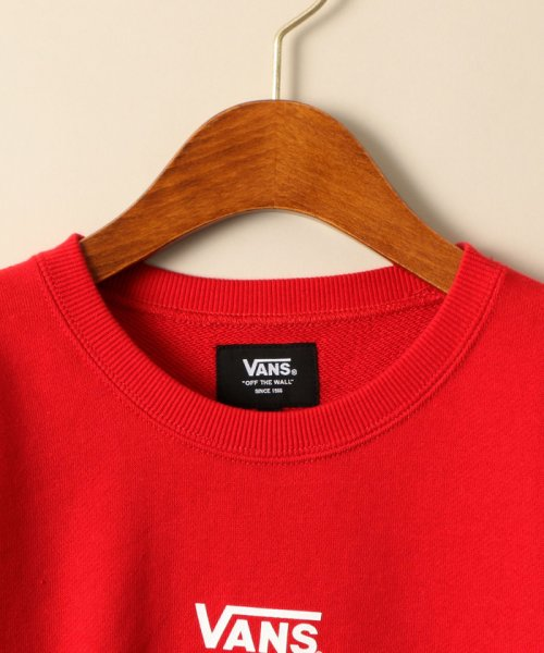 green label relaxing (Kids)(グリーンレーベルリラクシング(キッズ))/VANS(バンズ)OFF THE WALL BIGロゴスウェット/38125991525_img02