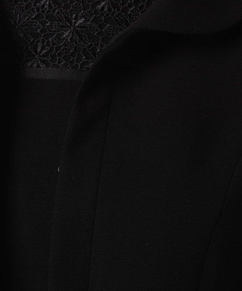 MICHEL KLEIN Noire(ミッシェル クラン ノアール)/【オールシーズン・喪服・礼服・フォーマル用】フラワーレースアンサンブル/645265_img11