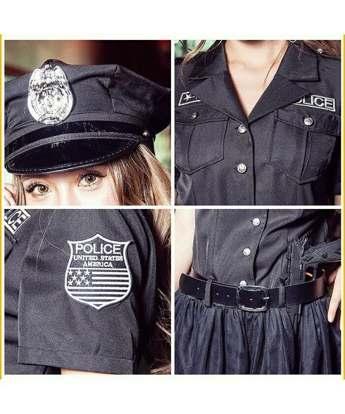 Dita(ディータ)/costume【コスチューム】USポリス(警察官)(帽子、ワンピース、ベルト、手錠/b4009_img06