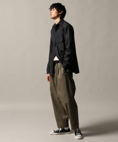 J.S Homestead(ジャーナルスタンダード ホームステッド)/Wool Flannel CPO シャツ/18050470201030_img01