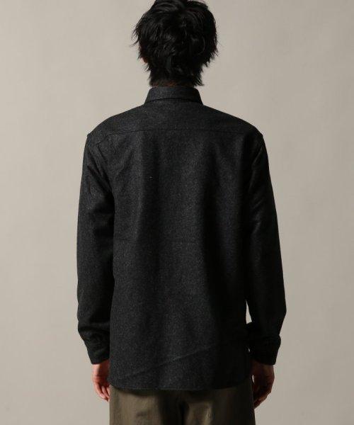 J.S Homestead(ジャーナルスタンダード ホームステッド)/Wool Flannel CPO シャツ/18050470201030_img04