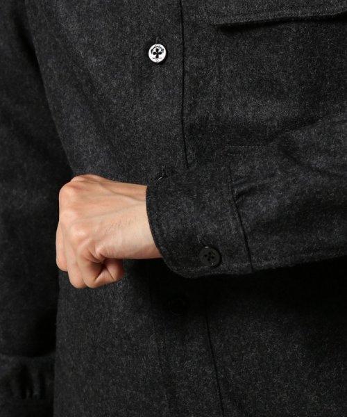 J.S Homestead(ジャーナルスタンダード ホームステッド)/Wool Flannel CPO シャツ/18050470201030_img05