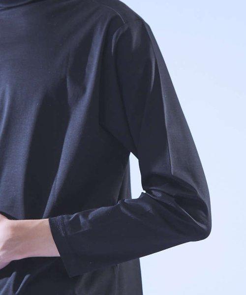 ABAHOUSE(ABAHOUSE)/ベア天タートルネックTシャツ/00370020030_img05