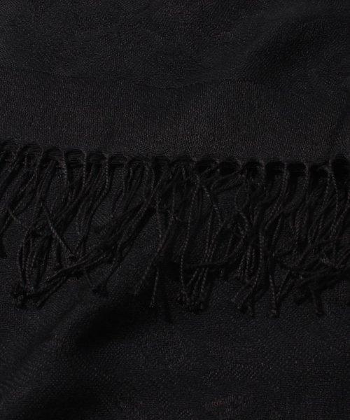 form forma(フォルムフォルマ)/シルク混ブラックウールストール/5631791_img04