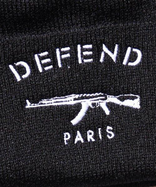 defend paris ディフェンド パリス paris bonnet ニットキャップ