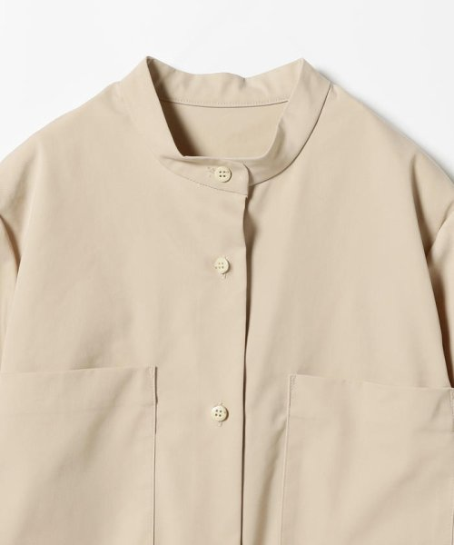 BEAMS OUTLET(ビームス アウトレット)/Demi-Luxe BEAMS / 4ポケット シャツワンピース/68260345594_img02