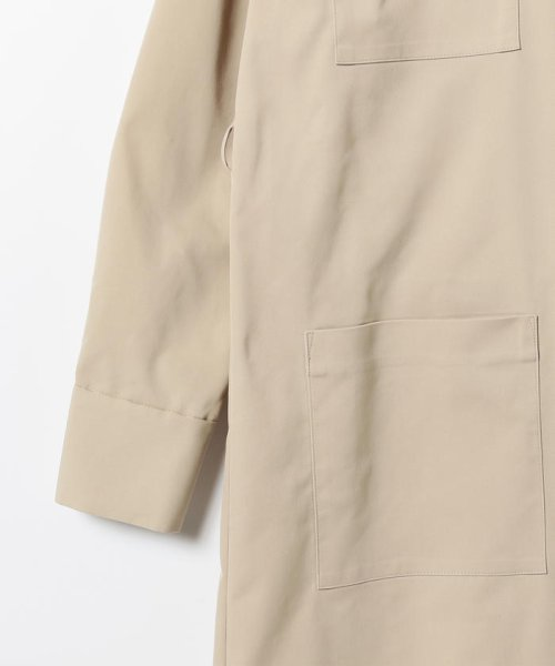 BEAMS OUTLET(ビームス アウトレット)/Demi-Luxe BEAMS / 4ポケット シャツワンピース/68260345594_img03
