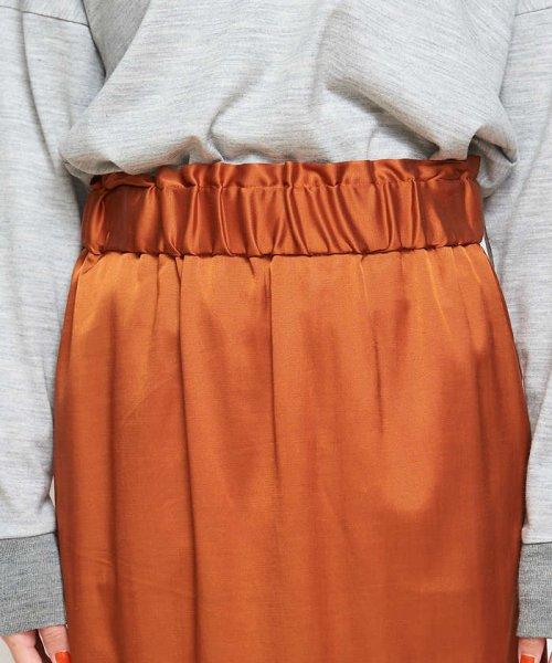 collex(collex)/collex サテンスカート/60370212007_img09
