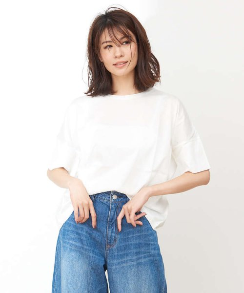 collex(collex)/綿シルケット天竺Tシャツ/60370606010_img01