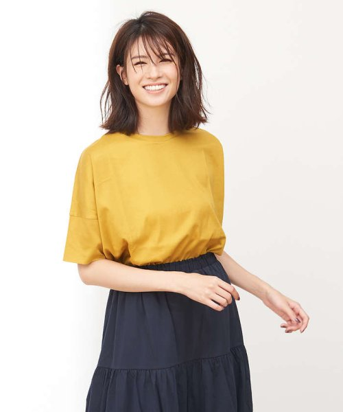 collex(collex)/綿シルケット天竺Tシャツ/60370606010_img04