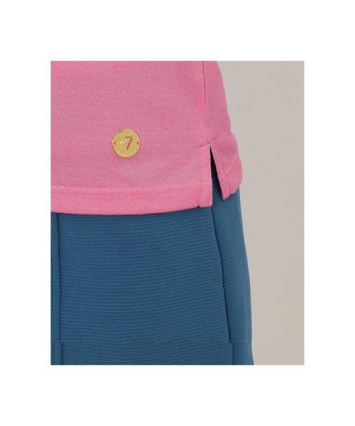 Samantha Thavasa UNDER25&NO.7(サマンサタバサアンダー)/ストレッチ素材ポイントストライプデザインポロシャツ/00761821100101_img05