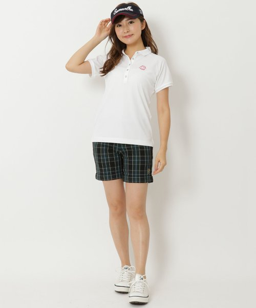 Samantha Thavasa UNDER25&NO.7(サマンサタバサアンダー)/シンプルロゴ入りポロシャツ/00771821100005_img03