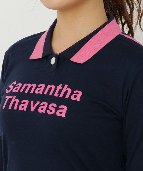 Samantha Thavasa UNDER25&NO.7(サマンサタバサアンダー)/リブ袖ラインポロシャツ/00771821200001_img04