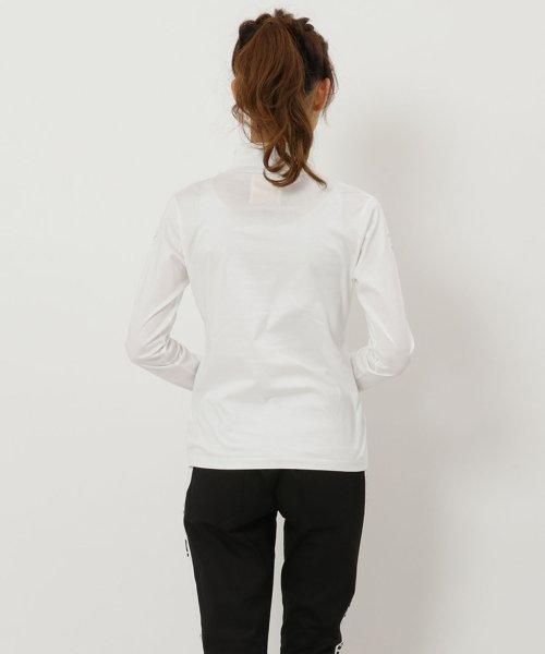 Samantha Thavasa UNDER25&NO.7(サマンサタバサアンダー)/サイドロゴ入りハイネックシャツ/00771821300001_img02
