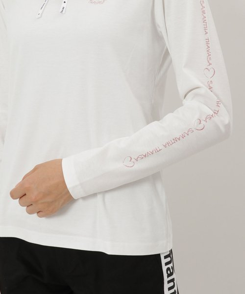 Samantha Thavasa UNDER25&NO.7(サマンサタバサアンダー)/サイドロゴ入りハイネックシャツ/00771821300001_img05