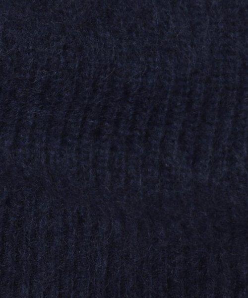 SHIPS JET BLUE(シップス ジェットブルー)/【MEN'S NON-NO 11月号掲載】SHIPS JET BLUE: シャギーミックス アゼクルーネックニット/126050196_img10