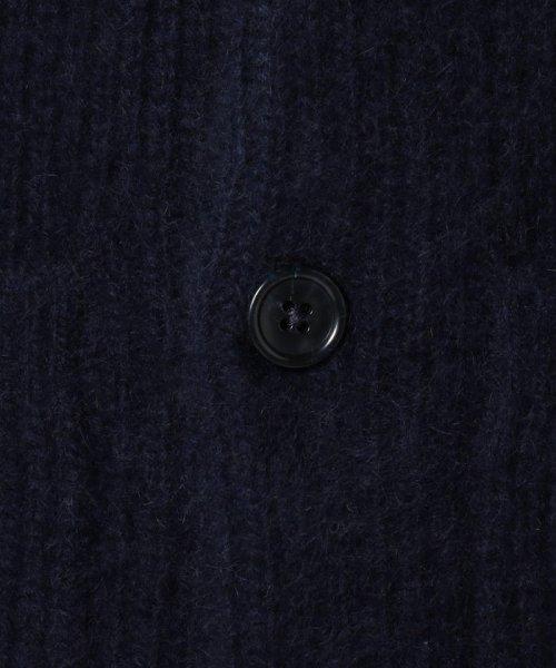 SHIPS JET BLUE(シップス ジェットブルー)/SHIPS JET BLUE: ヘアリーミックス アゼカーディガン/126450092_img11