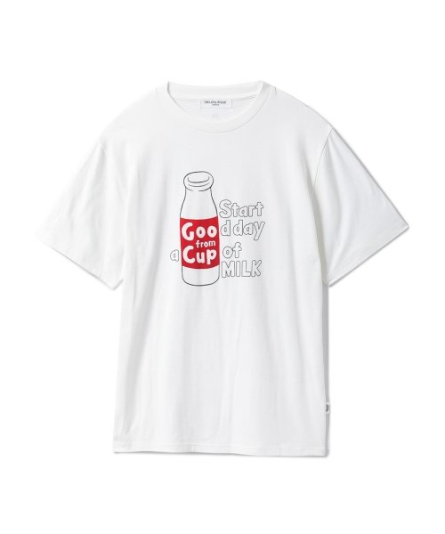 GELATO PIQUE HOMME(GELATO PIQUE HOMME)/【GELATO PIQUE HOMME】ミルクロゴTシャツ/PMCT185971_img01