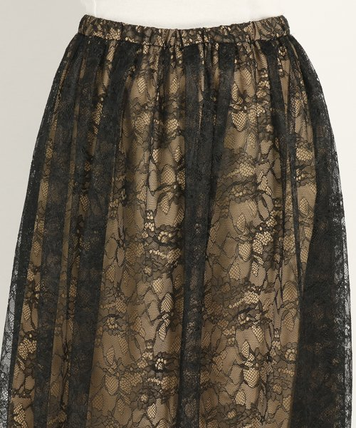 UNIVERVAL MUSE(ユニバーバル ミューズ)/ニーナレース スカート/8574150_img03