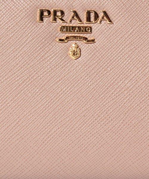 PRADA(プラダ)/【PRADA】2つ折りコンパクト財布 / SAFFIANO METAL ORO 【CIPRIA】/1ML018QWA236_img05
