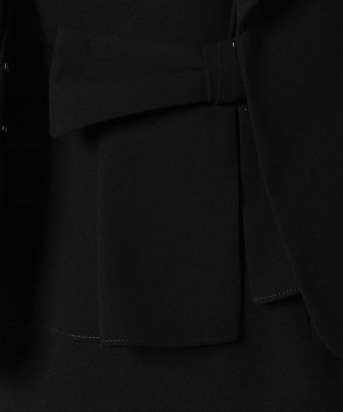 MICHEL KLEIN Noire(ミッシェル クラン ノアール)/【オールシーズン・喪服・礼服・フォーマル用】ヘチマカラーアンサンブル・セットアップ/645269_img08