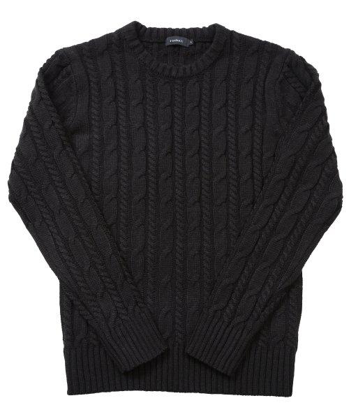 JIGGYS SHOP(ジギーズショップ)/ケーブルニットセーター / ニット メンズ セーター ケーブルニット/201375_img06