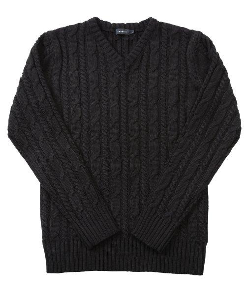 JIGGYS SHOP(ジギーズショップ)/ケーブルニットセーター / ニット メンズ セーター ケーブルニット/201375_img23