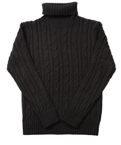 JIGGYS SHOP(ジギーズショップ)/ケーブルニットセーター / ニット メンズ セーター ケーブルニット/201375_img43