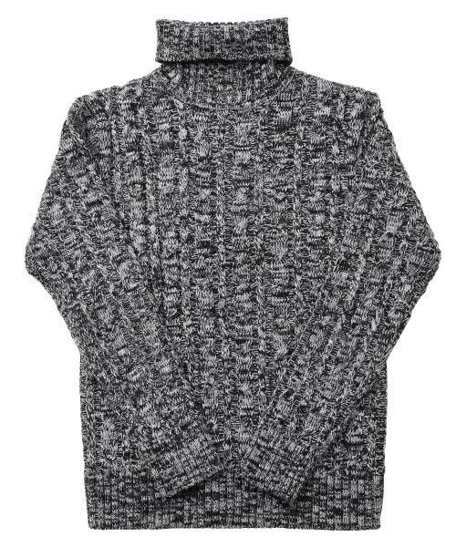 JIGGYS SHOP(ジギーズショップ)/ケーブルニットセーター / ニット メンズ セーター ケーブルニット/201375_img45