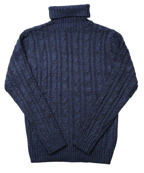 JIGGYS SHOP(ジギーズショップ)/ケーブルニットセーター / ニット メンズ セーター ケーブルニット/201375_img47