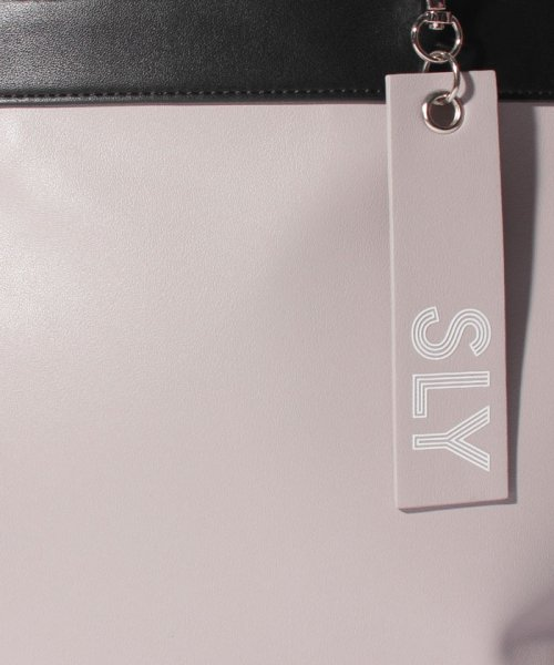 SLY(BAG)(スライ(バッグ))/【SLY】【SLY】SPORTS MIX 2WAY TOTE/S09100001_img06