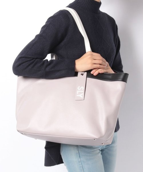 SLY(BAG)(スライ(バッグ))/【SLY】【SLY】SPORTS MIX 2WAY TOTE/S09100001_img07
