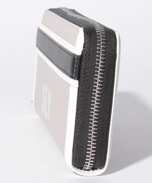 SLY(BAG)(スライ(バッグ))/【SLY】【SLY】SPORTS MIX ROUND WALLET/S09200003_img01