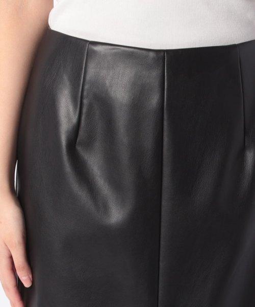 LAPINE BLEUE(ラピーヌ ブルー)/ロイヤルレザータイトスカート/239545_img03