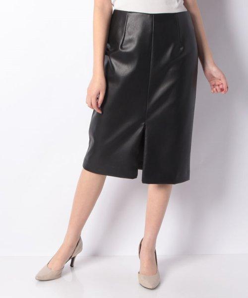 LAPINE BLEUE(ラピーヌ ブルー)/ロイヤルレザータイトスカート/239545_img05