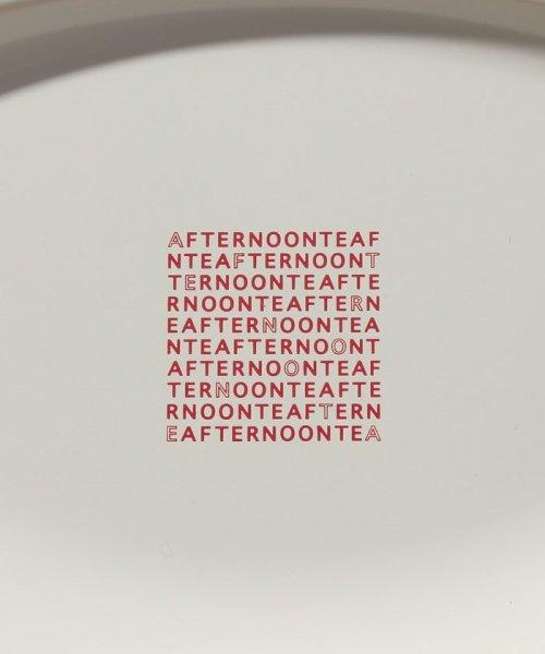 Afternoon Tea LIVING(アフタヌーンティー・リビング)/ロゴ柄オーバル仕切りプレート/FN6618305752_img02