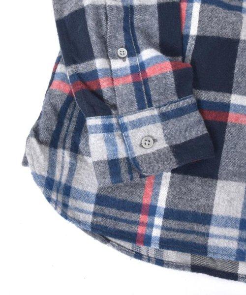 SHIPS JET BLUE(シップス ジェットブルー)/SHIPS JET BLUE: チェック レギュラーカラーネルシャツ/121160023_img02