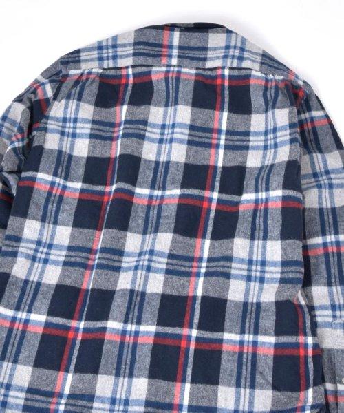 SHIPS JET BLUE(シップス ジェットブルー)/SHIPS JET BLUE: チェック レギュラーカラーネルシャツ/121160023_img05