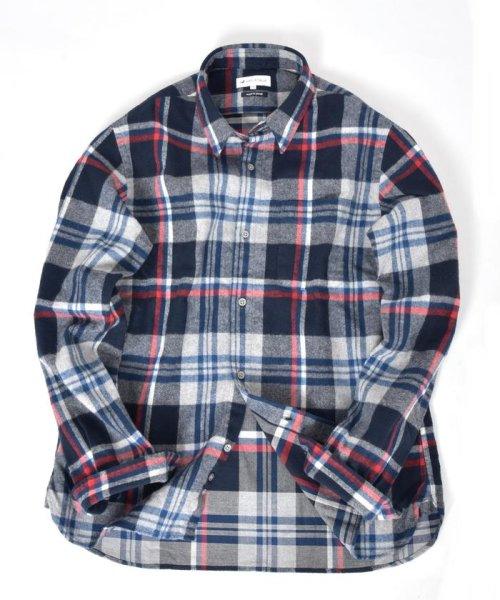 SHIPS JET BLUE(シップス ジェットブルー)/SHIPS JET BLUE: チェック レギュラーカラーネルシャツ/121160023_img07