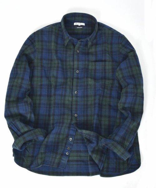SHIPS JET BLUE(シップス ジェットブルー)/SHIPS JET BLUE: チェック レギュラーカラーネルシャツ/121160023_img08