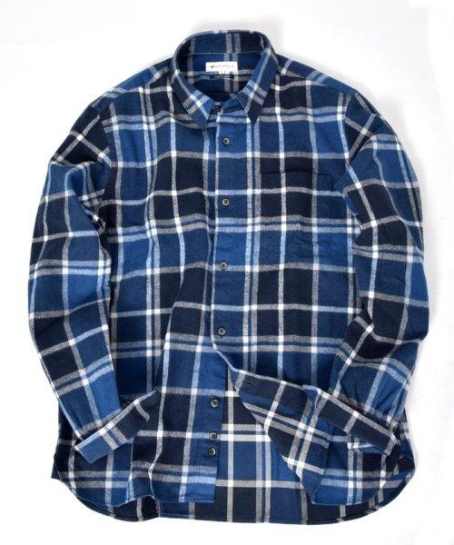 SHIPS JET BLUE(シップス ジェットブルー)/SHIPS JET BLUE: チェック レギュラーカラーネルシャツ/121160023_img09