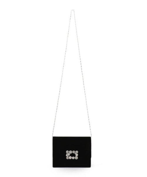 SHIPS WOMEN(シップス ウィメン)/little black:ビジューベルベットバッグ/310050304_img04