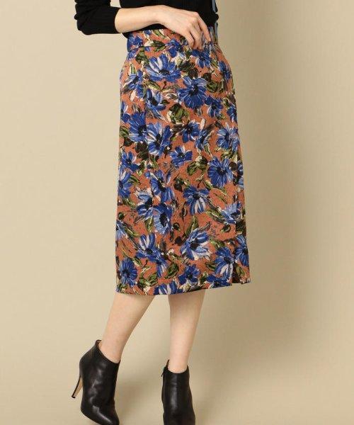 SHIPS WOMEN(シップス ウィメン)/フラワープリントタイトスカート/313250322_img01
