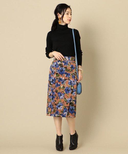 SHIPS WOMEN(シップス ウィメン)/フラワープリントタイトスカート/313250322_img02