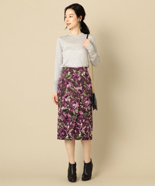 SHIPS WOMEN(シップス ウィメン)/フラワープリントタイトスカート/313250322_img06