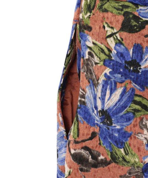 SHIPS WOMEN(シップス ウィメン)/フラワープリントタイトスカート/313250322_img10